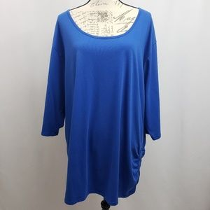 Avenue Plus Size 3/4 Sleeve Knit Top 26/28